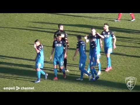 Preview video Gli highlights dell'amichevole Empoli-Perugia 1-0