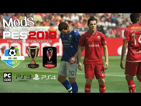 Pes 2019 Android Liga 1 Indonesia Download Disini