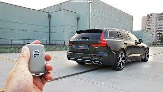 Volvo V60 T6 Polestar TEST POV Drive & Walkaround English Subtitles