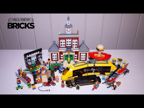 Vidéo LEGO City 60271 : La place du centre-ville