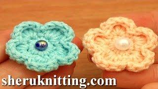 Easy Crochet Flower Free Pattern Tutorial 81 Flowers For Beginner Crochetersm