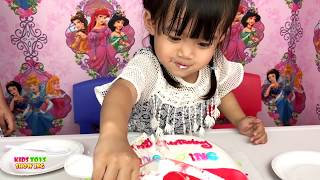 Happy Birthday JING JING birthday cake for kids