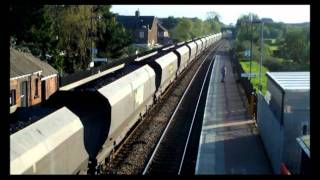 preview picture of video 'LMS No 6201 Princess Elizabeth At Narborough 9th April 2011'