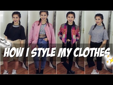 HOW I STYLE MY NEW CLOTHES | STYLETASTIC #2