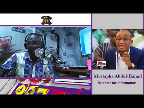 Minister of Information Talks On UGMC - JoySMS on Joy FM (1-6-18)