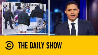 Las Vegas Makes Homelessness A Crime | The Daily Show With Trevor Noah