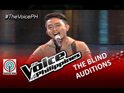 "The Voice of the Philippines Blind Audition  ""Panalangin"" by Mic Llave (Season 2)"