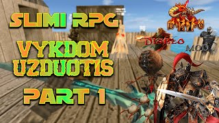 Slimi RPG video