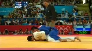 Lasha Shavdatuashvili vs Masashi Ebinuma. London 2012. semi final. Judo.