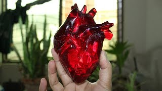 How To Make This Heart   Resin Art