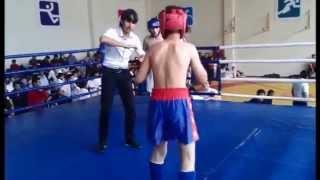 Чемпионат по кикбоксингу.(Улетный бой)