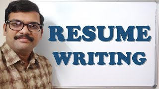 HOW TO WRITE A RESUME | RESUME WRITING - CAREER GUIDANCE