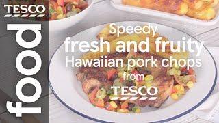 Speedy Hawaiian pork chops
