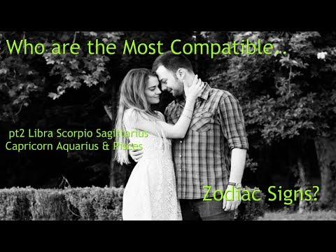 Who're the Most Compatible   Zodiac Signs? pt2 Libra Scorpio