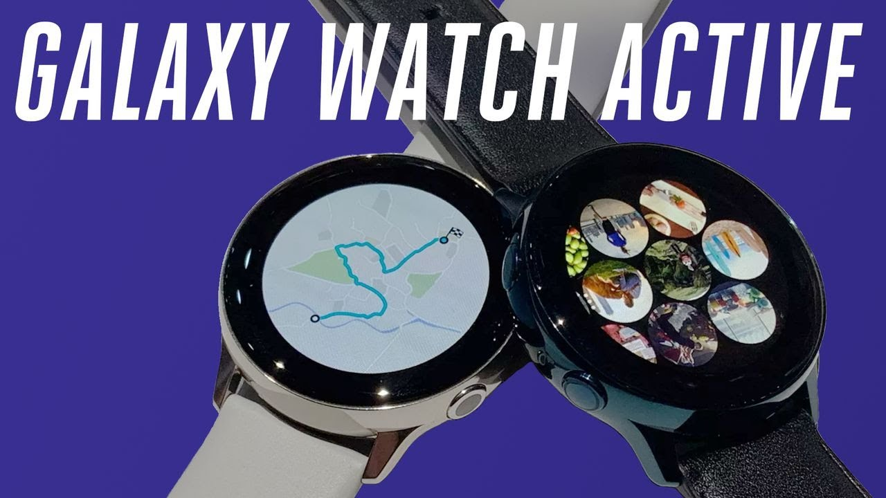 Samsung Galaxy Watch Active hands-on: bye rotating bezels thumbnail