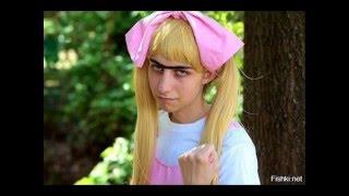 ПРИКОЛЫ смешная подборка мужского косплея)))))funny cosplay,αστείος άνθρωπος