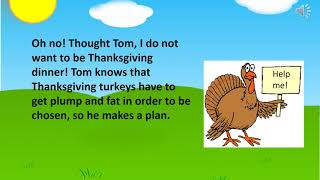 Tom the turkey! An exercise story!