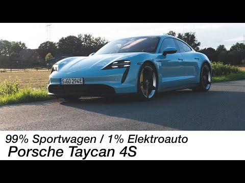 """Sportwagen! Kein """"Elektroauto"""": Porsche Taycan 4S Test [4K] - Autophorie"""