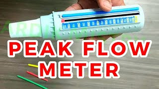 PEAK FLOW METER | CLINICAL LAB | PHYSIOLOGY