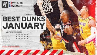 NBA's Best Dunks & Posterizes | January 2019-20 NBA Season