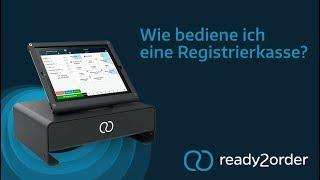 Wie bediene ich eine Registrierkasse?