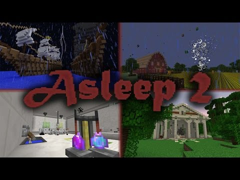 minecraft map asleep