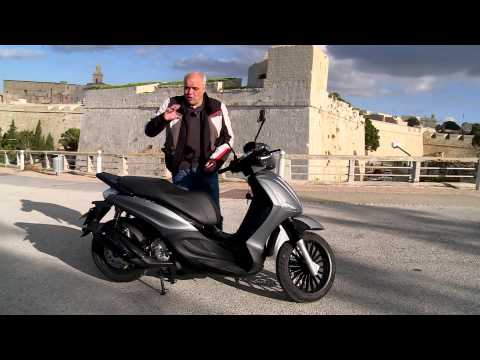 Piaggio Beverly Test Ride