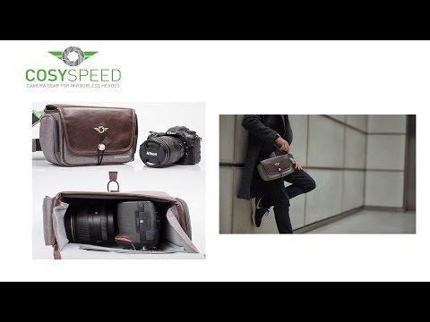 Cosyspeed Kameratasche mit Hüftgürtel Camslinger Streetomatic+ Fototasche