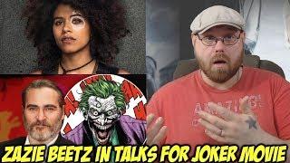 Zazie Beetz In Talks for Joker Movie!!!