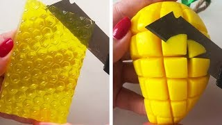 The Most Satisfactory Videos Of Cutting Soap, Crushing Soap, Soap Of Cubes And More 13