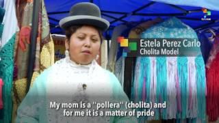Cultura Latina - Cholita Fashion In Bolivia