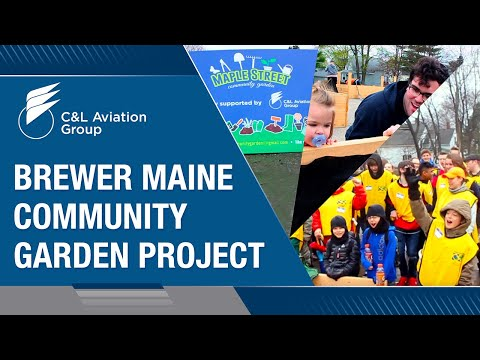 Brewer Maine Community Garden Project