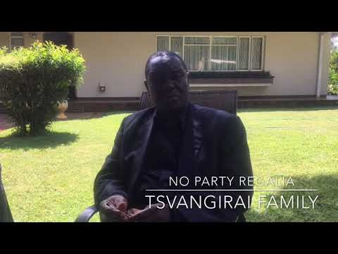 Tsvangirai family bans MDC regalia at the late's memorial