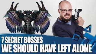 7 Secret Videogame Bosses We Should Have Left Well Alone