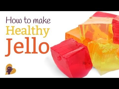 Video How to Make Healthy Jello