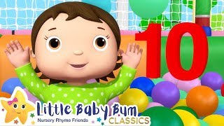 Ten Little Babies Song + More Nursery Rhymes & Kids Songs - Little Baby Bum | ABCs and 123s