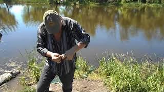 Рыбалка на озере круглое в подгорном