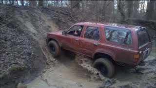 4x4 toyota 4-runner and ford explorer farm trail part 3