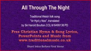 All Through The Night - Welsh Lyrics & Music Video