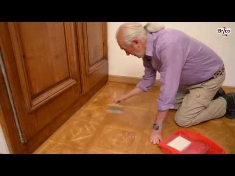 Rénover/revernir un parquet vitrifié – Bricolage avec Robert