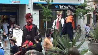 preview picture of video 'Cercavila Colla Gegantera Blanes (y 2)'