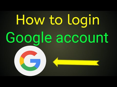 Google account how to login | Gmail account how to login
