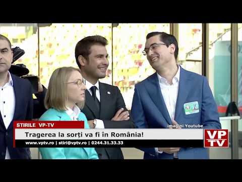 Tragerea la sorți va fi în România!