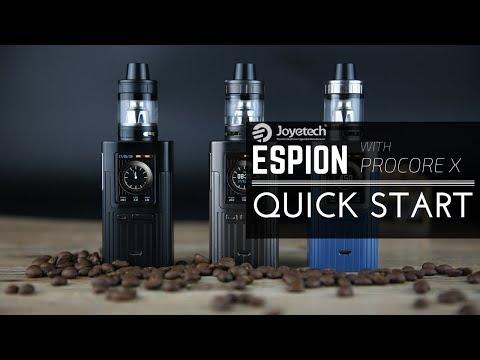 Joyetech Espion (200W, без аккумуляторов) в комплекте с ProCore X - видео 2