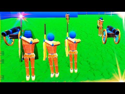 wooden battle simulator