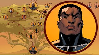 Black Panther's Royal Family Tree
