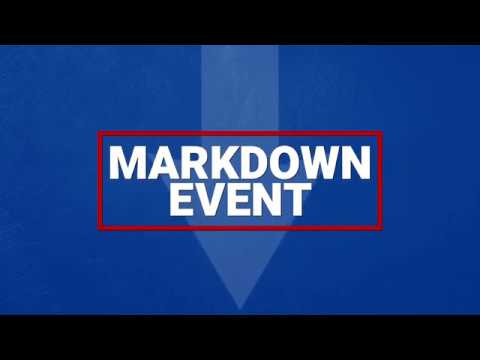 Markdown Event - 2018