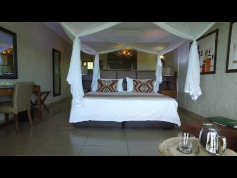Spacious accomodation and views of the unspoilt bush are just some of the things Victoria Falls Safari Club offers.