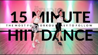 The Most Fun 15 Minute Cardio Dance Fitness Workout EVER