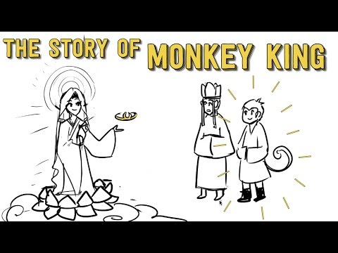 How The Monkey King Came To Be - Journey To The West
